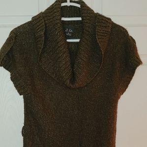 Dots Mini Sweater Dress